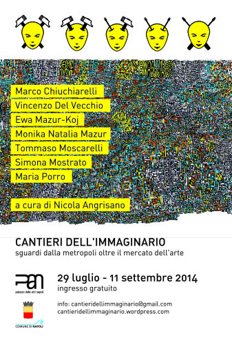 flyer Cantieri dell'immaginario al PAN